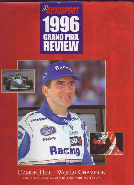 Autosport 1996 grand prix review -DAMON hILL_WORLD CHAMPION