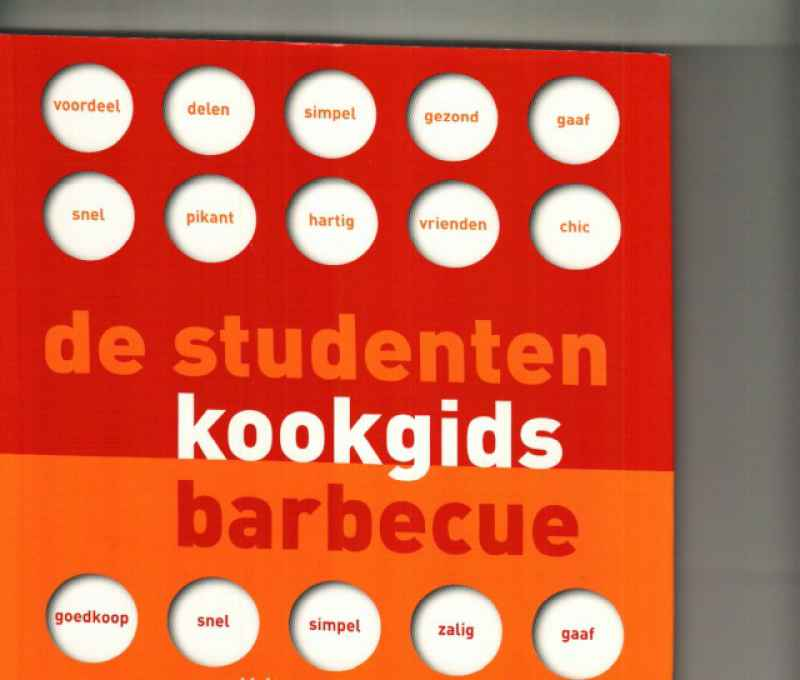 DE STUDENTEN KOOKGIDS BARBECUE