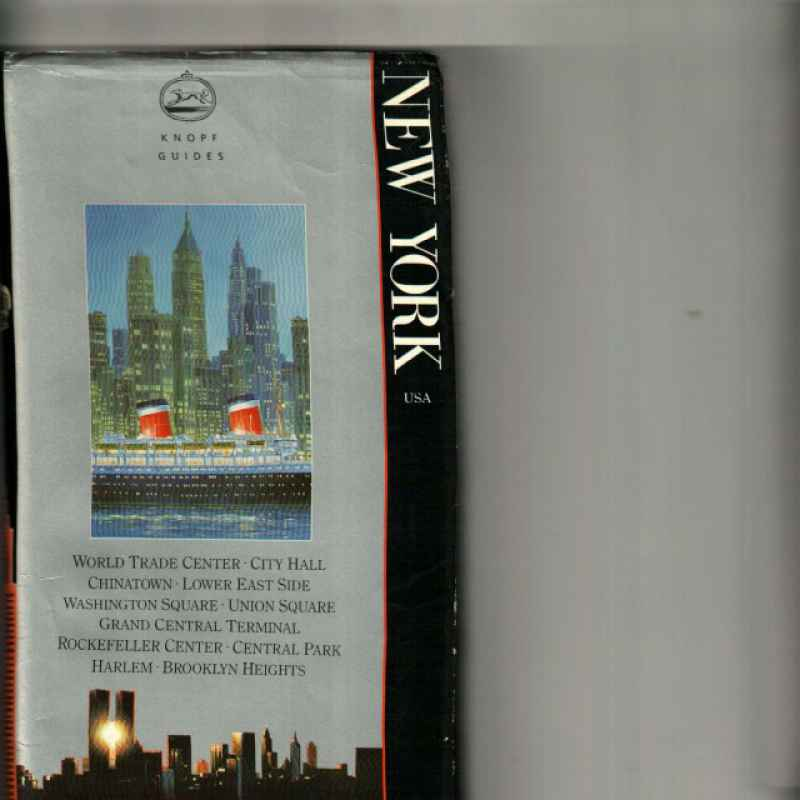 NEW YORK USA KNOPF GUIDE