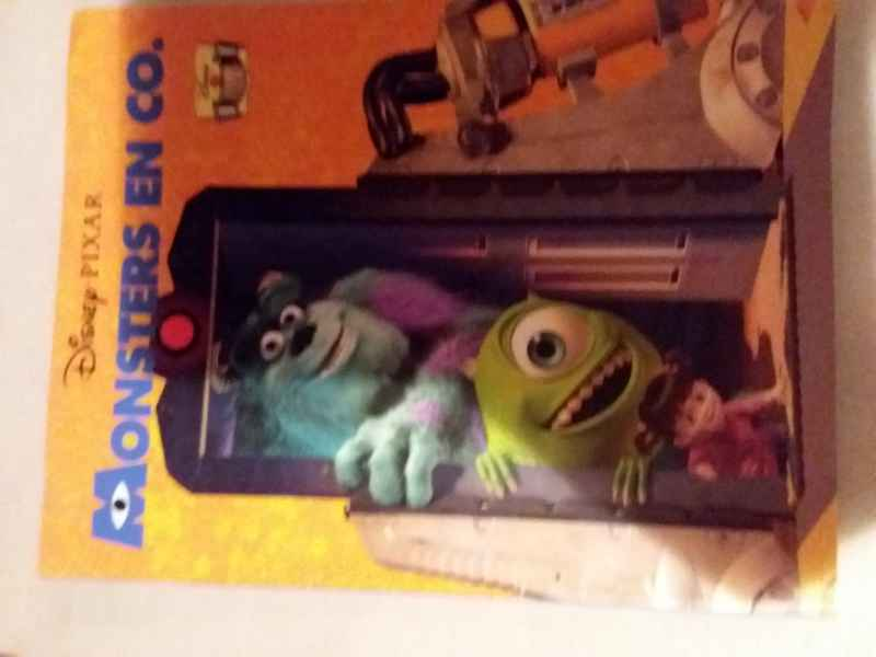 Monsters en co. Disney filmstrip