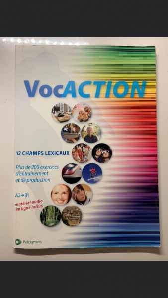 VocACTION – 12 champs lexicaux A2 -> B1
