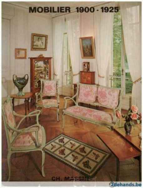 Mobilier 1900-1925